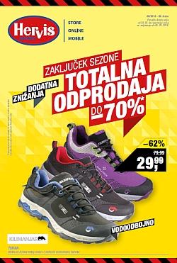 Hervis katalog Zaključek sezone do 05. 03.