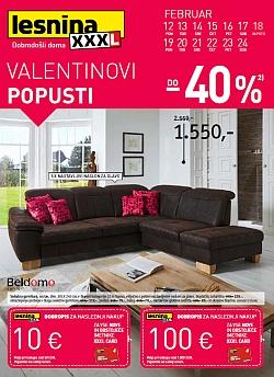 Lesnina katalog Valentinovi popusti do 24. 02.
