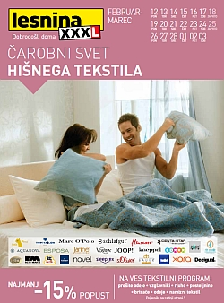 Lesnina katalog Hišni tekstil do 03. 03.