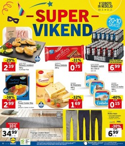 Lidl super vikend do 11. 02.