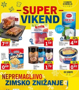 Lidl super vikend do 18. 02.