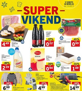 Lidl super vikend do 25. 02.