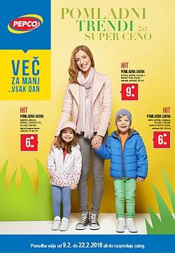 Pepco katalog Pomladni trendi do 22. 02.