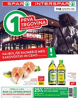 Spar in Interspar katalog do 20. 02.