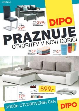 Dipo katalog praznuje otvoritev Nova Gorica