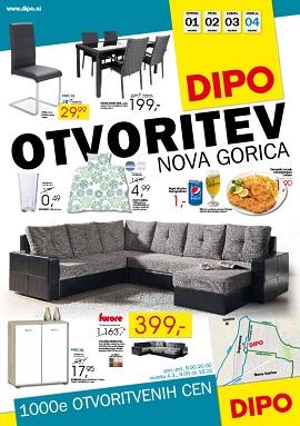 Dipo katalog Otvoritev Nova Gorica
