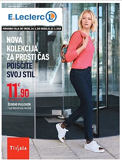 E Leclerc katalog Maribor Nova kolekcija