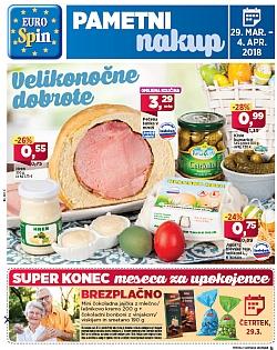 Eurospin katalog Velikonočne dobrote do 04. 04.