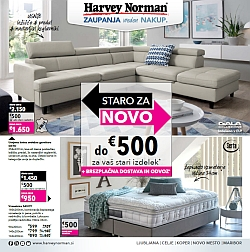 Harvey Norman katalog Staro za novo do 14. 03.
