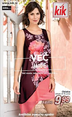 KIK katalog Več mode od 21. 03.
