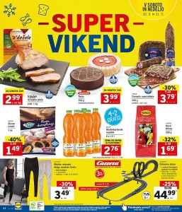 Lidl super vikend do 11. 03.