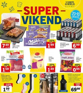 Lidl super vikend do 18. 03.
