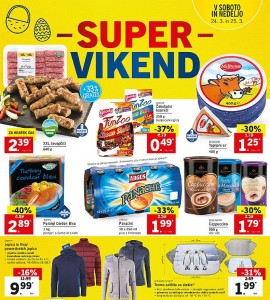 Lidl super vikend do 25. 03.