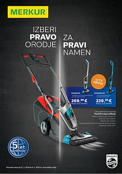 Merkur katalog Philips orodje do 06. 05.