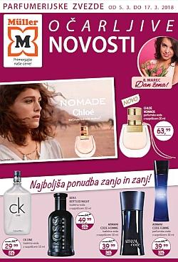 Muller katalog parfumerija Očarljive novosti