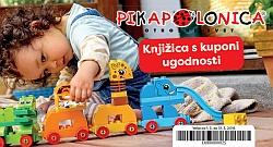 Pikapolonica knjižica kuponov marec 2018