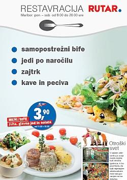 Rutar katalog Restavracija Maribor kuponi do 17. 03.