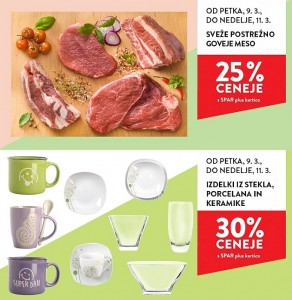 Spar in Interspar vikend akcija do 11. 03.