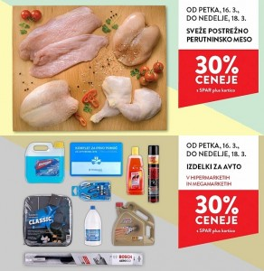 Spar in Interspar vikend akcija do 18. 03.
