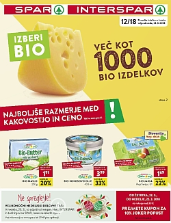 Spar in Interspar katalog do 27. 03.