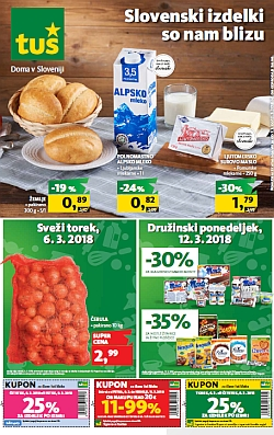 Tuš katalog trgovine in franšize do 12. 03.