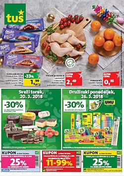Tuš katalog trgovine in franšize do 26. 03.
