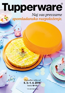 Tupperware katalog Spomladansko raspoloženje