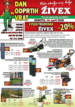 Živex katalog april 2018