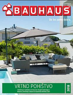 Bauhaus katalog Vrtno pohištvo 2018