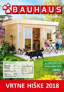 Bauhaus katalog Vrtne hiške 2018