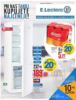 E Leclerc katalog Ljubljana do 29. 04.