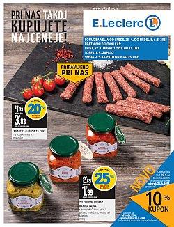 E Leclerc katalog Ljubljana do 06. 05.