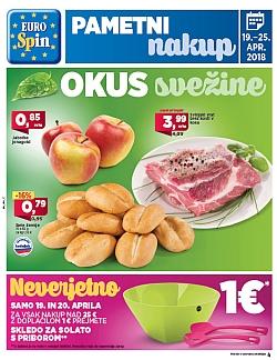 Eurospin katalog do 25. 04.