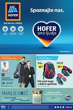 Hofer katalog od 09. 04. in od 12. 04.