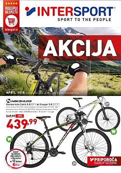Intersport katalog april 2018