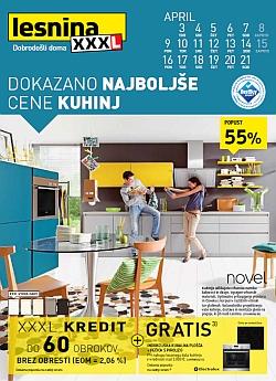 Lesnina katalog Najboljše cene kuhinj do 21. 04.