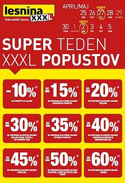 Lesnina katalog XXXL popusti – pohištvo