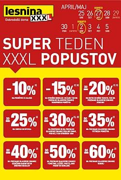 Lesnina katalog Super teden Ljubljana in Maribor