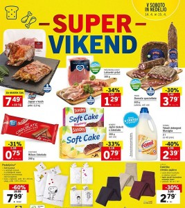 Lidl super vikend do 15. 04.