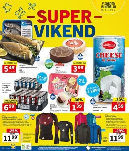 Lidl super vikend do 29. 04.