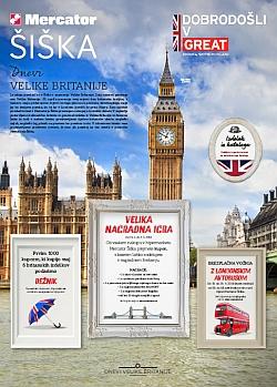 Mercator katalog Šiška Dnevi Velike Britanije