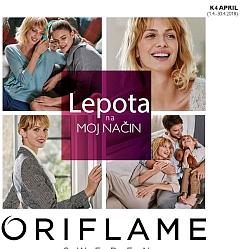 Oriflame katalog april 2018
