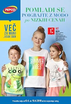 Pepco katalog Pomladna moda po nizkih cenah
