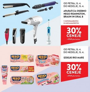 Spar in Interspar vikend akcija do 15. 04.