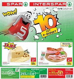 Spar in Interspar katalog do 17. 04.