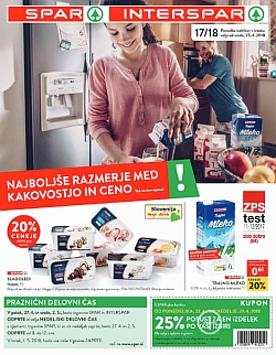Spar in Interspar katalog do 02. 05.