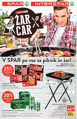 Spar in Interspar katalog Vse za piknik in žar
