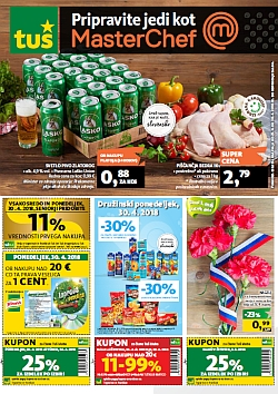 Tuš katalog trgovine in franšize do 30. 04.