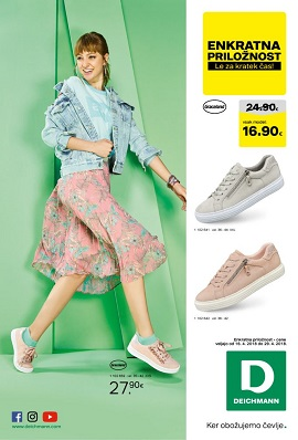 Deichmann katalog april 2018