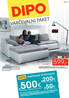 Dipo katalog Varčevalni paket do 28.4.